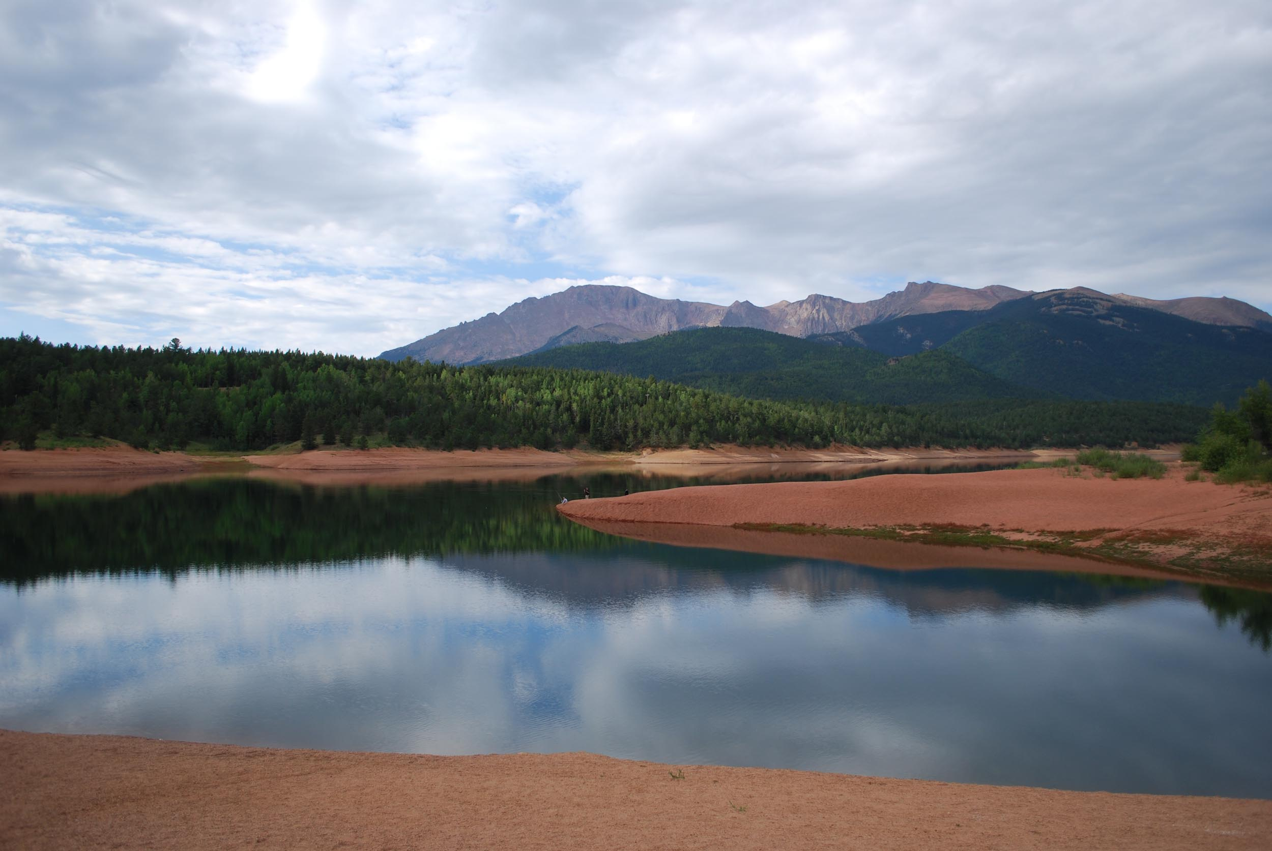 Photo by Zach Doty, digital marketing professional, of a Colorado lake.